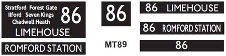 M / T   Route 86