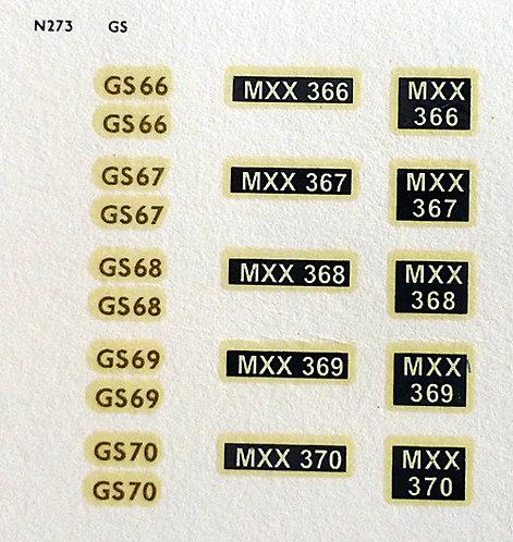 Gold GS66, GS67, GS68, GS69, GS70