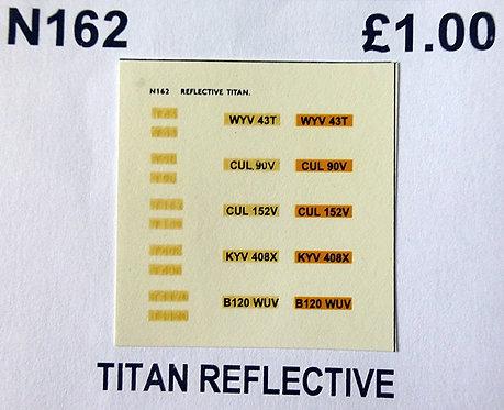 White T43, T90, T152, T408, T1120