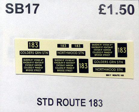 STL Route 183