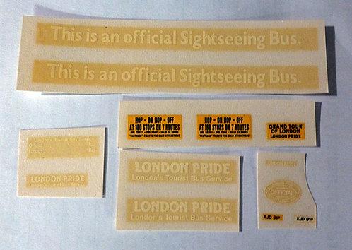 London Pride Complete Set