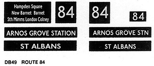 DMS Route 84