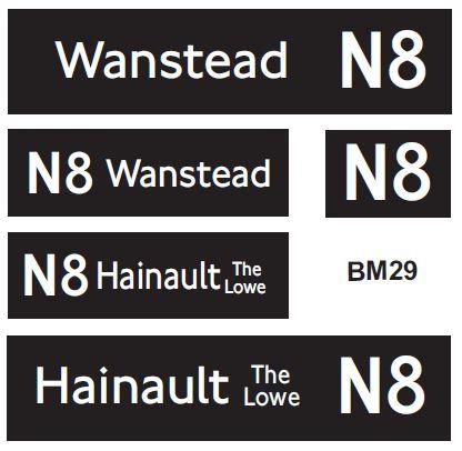 New LT (Borismaster)  Route N8