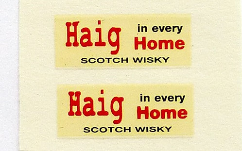 Haig In Every Home