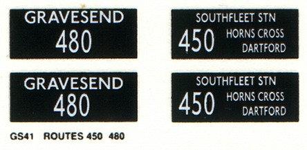 GS Routes 450 / 480