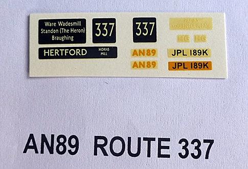 AN Route 337 (AN89)