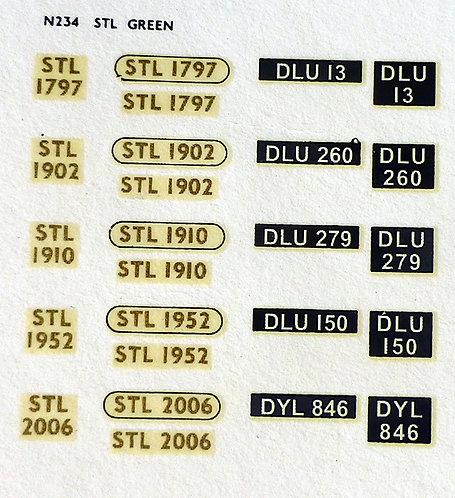 Gold STL1797, STL1902, STL1910, STL1952, STL2006