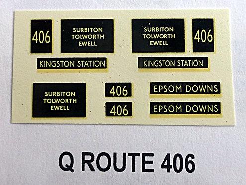 Q D/D Route 406
