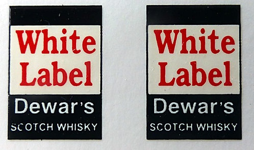 WHITE LABEL FRONT ADVERTS