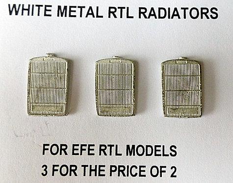 White Metal RTL Radiators