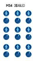 Disabled logos