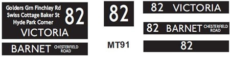 New M / T  Blinds Route 82