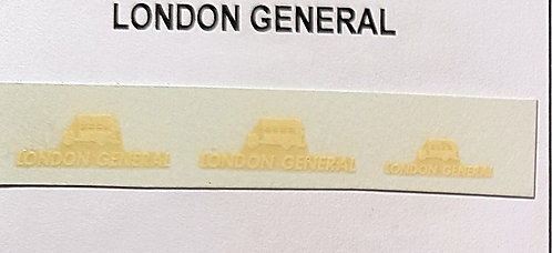 District Logos  London General x2