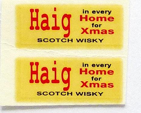 Haig for Xmas