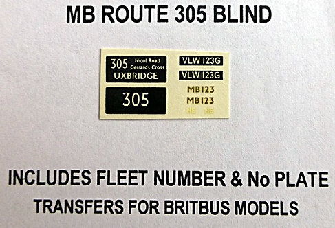 MB Route 305 (MB123)