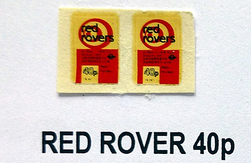 Red Rover 40p