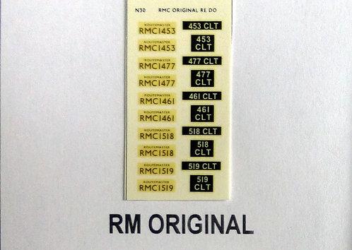 Gold RMC1453, RMC1477, RMC1461, RMC1519