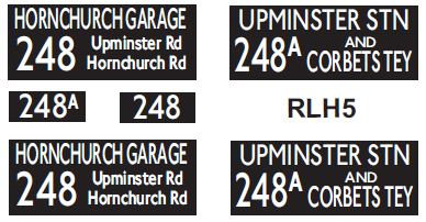 NEW RLH Blinds Routes 248/248A