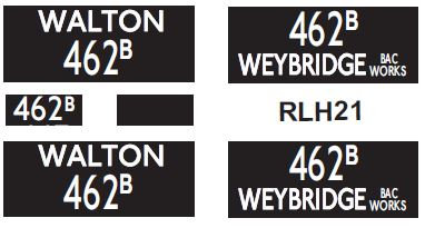 NEW RLH Blinds Route 462B