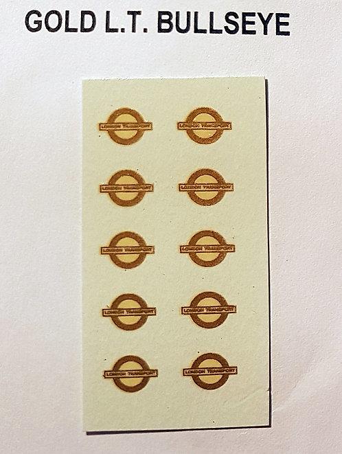 Fleet Names  Gold L.T. Bullseyes