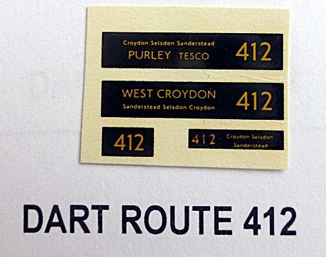 Dart Route 412