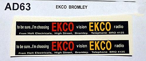 Ekco  Bromley