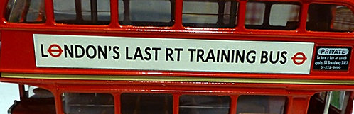 London's Last RT Trainer