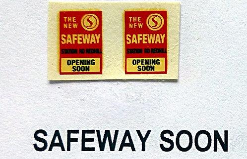 Safeway Opening Soon