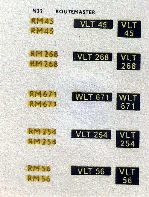 Gold RM45. RM268, RM671, RM254, RM56