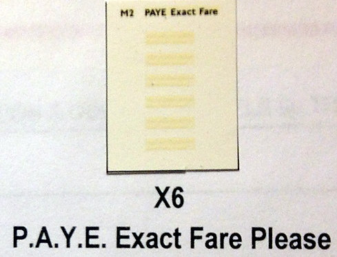 Misc:  Pay As You Enter