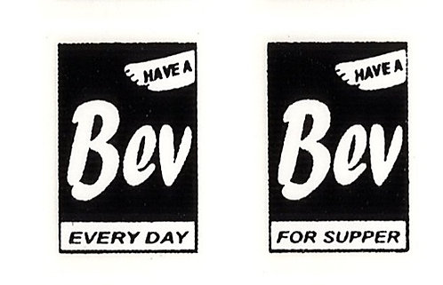 BEV FRONT ADVERTS