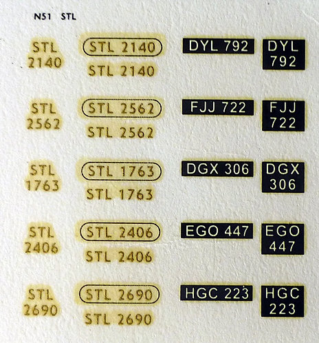 Gold STL2140, STL2562, STL1763, STL2406, STL2690