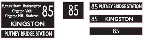 M / T Route 85