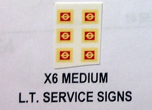 Misc:  L.T. Service Signs