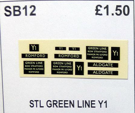 STL Greenline Route Y1