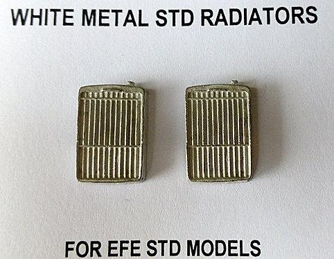 White Metal STD Radiators
