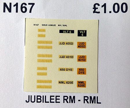White RM6, SRM3, RML2405, RML2431, RML2620