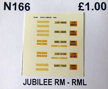 White / Yellow RML2499, RML2648, RML2750, RML2414, RML2600