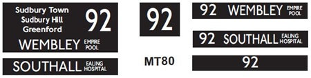 New M / T  Blinds Route 92