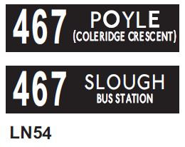Leyland National Blind  Route 467