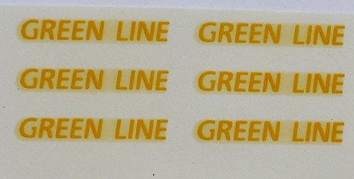 Fleet Names   Green Line