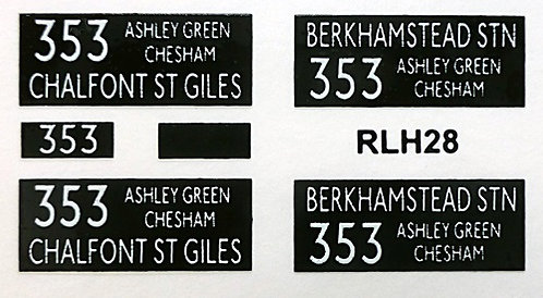 NEW RLH Blinds Route 353