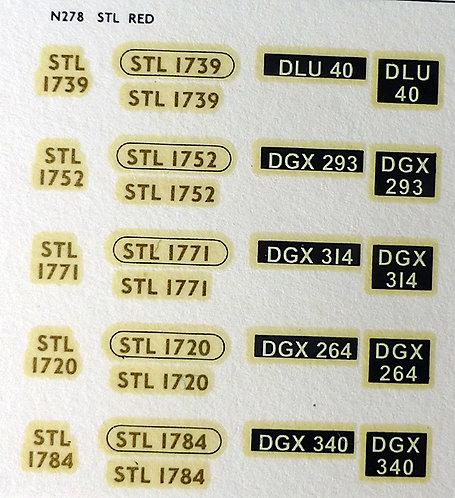 Gold STL1720, STL1739, STL1752, STL1771, STL1784