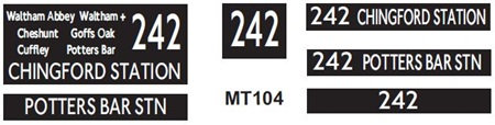 New M / T  Blinds Route 242