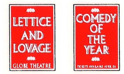 LETTICE AND LOVAGE FRONT ADVERTS