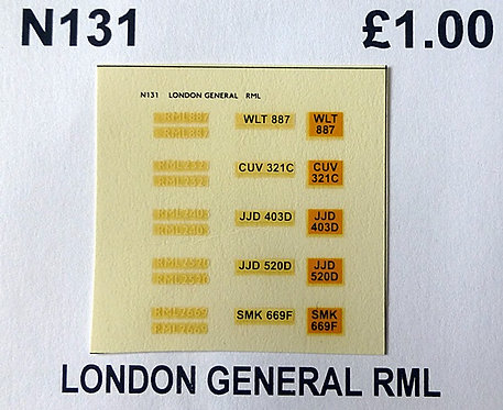 White RML887, RML2321, RML2403, RML2520, RML2669