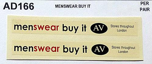 Menswear Buy It