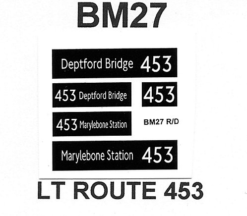 New LT (Borismaster)  Route 453