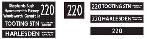 M / T Route 220