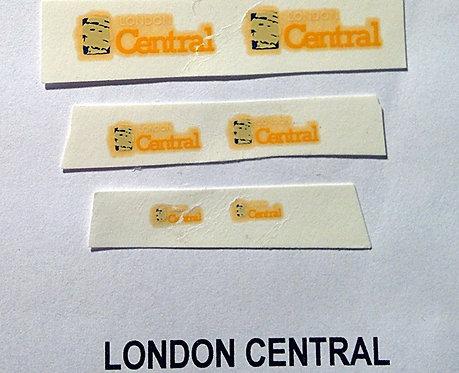 Fleet Name Sets  London Central